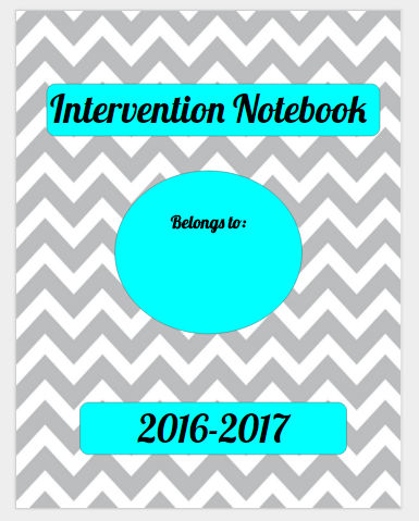 Intervention Notebook